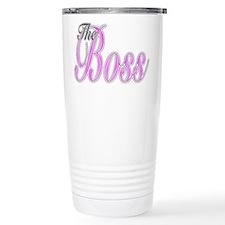 Pink Boss Lady Travel Mug