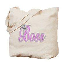 Pink Boss Lady Tote Bag