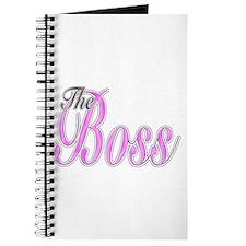 Pink Boss Lady Journal