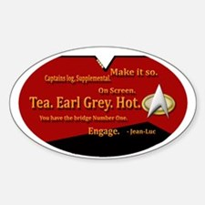 Tea. Earl Grey, Hot VERSION 2 TRAVEL MUG Decal
