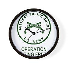 Army-MP-Enduring-Freedom-Army-Green.gif Wall Clock