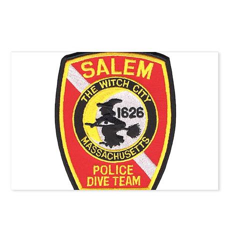 Salem Police Diver Postcards (Package of 8)