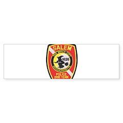 Salem Police Diver Bumper Bumper Sticker