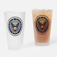 Navy-Logo-9.gif Drinking Glass