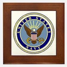 Navy-Logo-9.gif Framed Tile