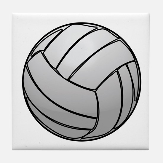Volleyball Tile Coaster