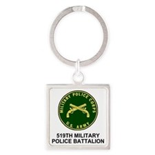 Army-519th-MP-Bn-Shirt-4.gif Square Keychain