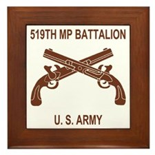 Army-519th-MP-Bn-Shirt-6-C.gif Framed Tile