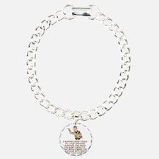 Army-Humor-Grenade-Launc Bracelet