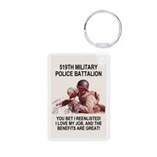 Army-519th-MP-Bn-Poster.gi Keychains
