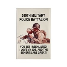 Army-519th-MP-Bn-Poster.gif Rectangle Magnet