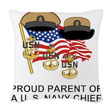 Navy-Chief-Parent.gif          Woven Throw Pillow