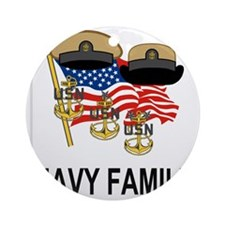 Navy-Family-Chief.gif               Round Ornament
