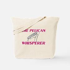 The Pelican Whisperer Tote Bag