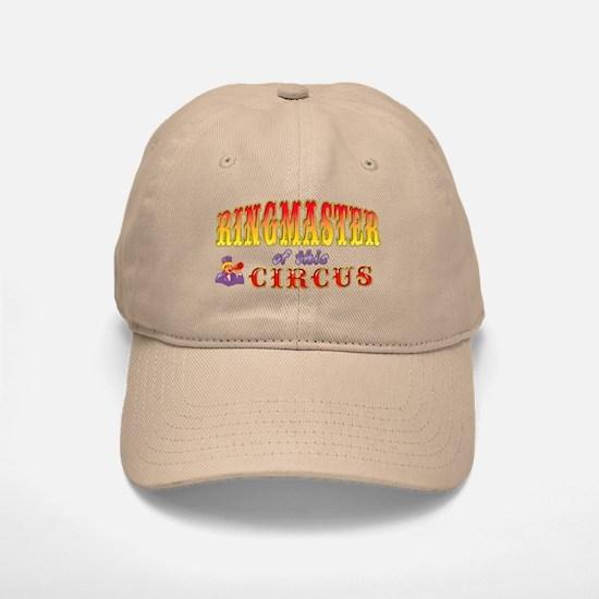 Circus Ringmaster Baseball Baseball Cap