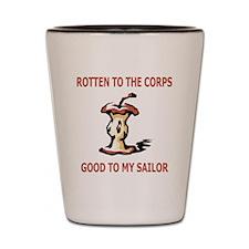 Navy-Good-To-My-Sailor-Salmon.gif Shot Glass