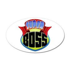 Super Boss Wall Decal