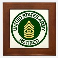 Army-Retired-CSM-Rank-Ring-2.gif Framed Tile