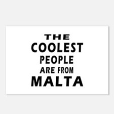 The Coolest Mali Designs Postcards (Package of 8)