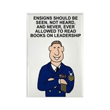 Navy-Humor-Ensigns-Poster-E9-CMC. Rectangle Magnet