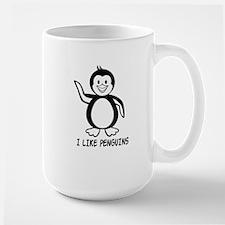I Like Penguins Mug