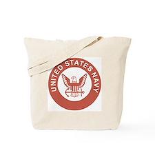 Navy-Logo-13-Salmon.gif Tote Bag