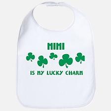 Mimi is my lucky charm Bib