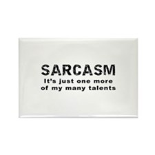 Sarcasm - Funny Saying Rectangle Magnet