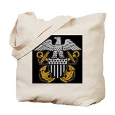 Navy-Officer-Crest.gif Tote Bag