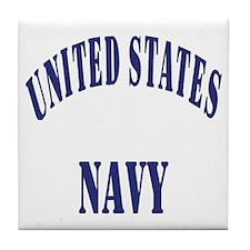 Navy-Logo-11-Blue-Bonnie.gif Tile Coaster
