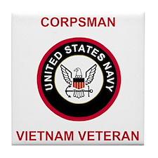 Navy-Marine-Corpsman-Vietnam-3.gif Tile Coaster