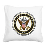 Military Square Canvas Pillows