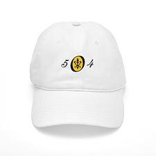 Fleur 504, gold Baseball Cap