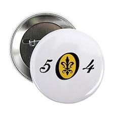 Fleur 504, gold Button