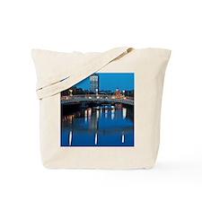 Dublin at night Tote Bag