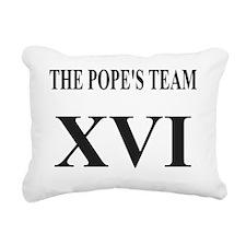Saint-Benedict-Shirtback Rectangular Canvas Pillow