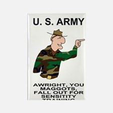 Army-Humor-Sensitivity-Poster.gif Rectangle Magnet