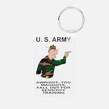 Army-Humor-Sensitivity-Pos Keychains