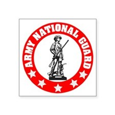 "ARNG-Seal-Red.gif Square Sticker 3"" x 3"""