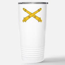 Army-Artillery-Branch-Insignia- Travel Mug