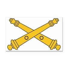Army-Artillery-Branch-Insigni Rectangle Car Magnet