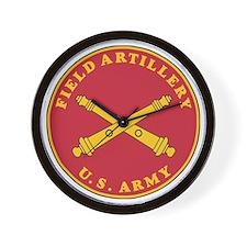 Army-Artillery-Branch-Plaque-Bonnie.gif Wall Clock