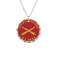 Army-Artillery-Branch-Plaque Necklace