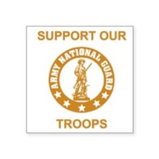 """arng-support-gold.gif Square Sticker 3"""" x 3"""""""