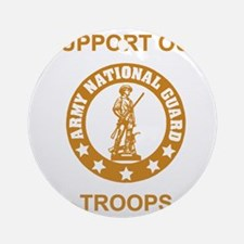 arng-support-gold.gif Round Ornament