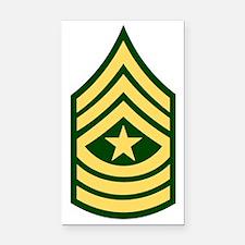 army-sgm-bonnie-x.gif Rectangle Car Magnet
