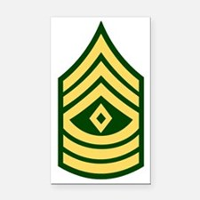 army-1sg-bonnie-y.gif Rectangle Car Magnet