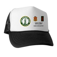 ARNG-120th-FA-Veteran-Mug.gif Trucker Hat