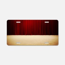 Stage curtains Aluminum License Plate