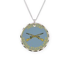 Army-Infantry-Branch-Plaque- Necklace